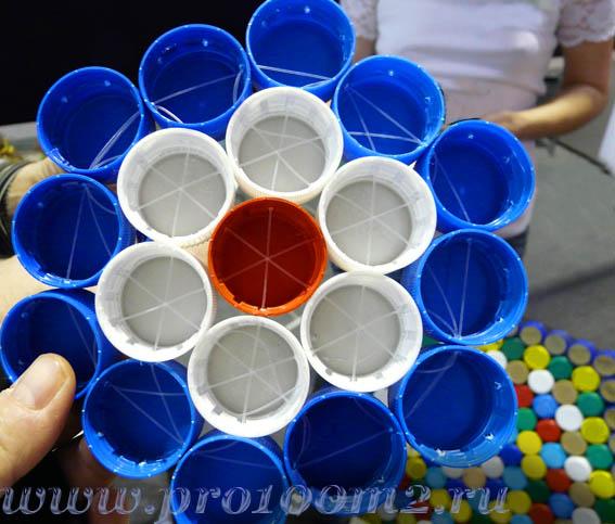 Коврики из пластиковых бутылок своими руками